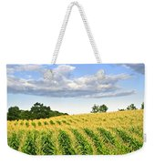 Corn Field Weekender Tote Bag by Elena Elisseeva