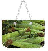 Corn New Jersey Grown  Weekender Tote Bag