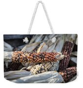 Corn Of Many Colors Weekender Tote Bag by Caitlyn  Grasso
