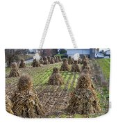 Corn Shocks Amish Field Weekender Tote Bag