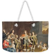 Cornelia And Her Jewels Oil On Canvas Weekender Tote Bag