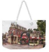 Corner Cafe Main Street Disneyland 02 Weekender Tote Bag