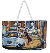 Corner Deal By Prankearts Weekender Tote Bag