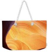 Corner Flame Weekender Tote Bag