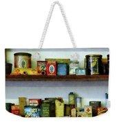 Corner Grocery Store Weekender Tote Bag