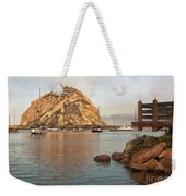 Corner Harbor Weekender Tote Bag