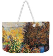 Corner Of Garden In Montgeron Weekender Tote Bag