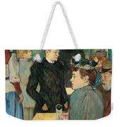 Corner Of Moulin De La Galette Weekender Tote Bag by Henri de Toulouse Lautrec