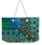 Cornered Weekender Tote Bag by Wendy J St Christopher