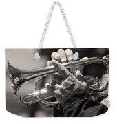 Cornet In Sepia Weekender Tote Bag