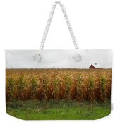 Cornfield And Farmhouse Weekender Tote Bag