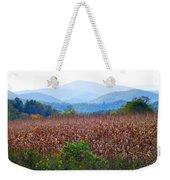 Cornfield In The Mountains Weekender Tote Bag