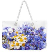 Cornflower And Chamomile Bunch Blooms  Weekender Tote Bag