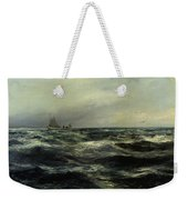 Cornish Sea And Working Boat Weekender Tote Bag
