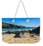 Cornish Seascape Gunwalloe Weekender Tote Bag