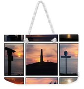 Cornish Sunsets Weekender Tote Bag