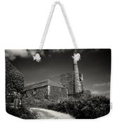 Cornish Tin Mine. Weekender Tote Bag