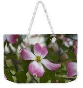 Cornus Florida - Pink Dogwood Blossoms Weekender Tote Bag