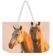 Corona And Cheyenne At Dawn Weekender Tote Bag