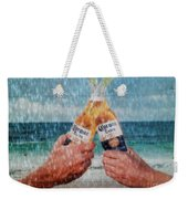 Coronas In The Rain Weekender Tote Bag