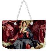 Coronation Of The Virgin Weekender Tote Bag by Diego Velazquez