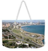 Corps Christi Skyline Weekender Tote Bag