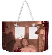 Corpse Bullet Holes Train Robber Cole Estes Aka Cole Young 1872-1896 Collage 1896-2012 Weekender Tote Bag