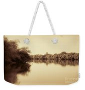 Corroboree Billabong In Sepia Weekender Tote Bag