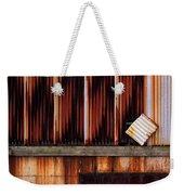 Corrugated Steel Mill Wall Alton Il Weekender Tote Bag