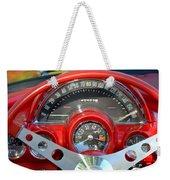 Corvette Dashboard Weekender Tote Bag
