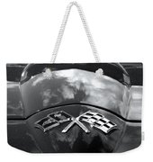 Corvette In Black And White Weekender Tote Bag
