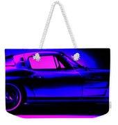 Corvette In Blue Weekender Tote Bag