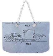 Corvette Patent Weekender Tote Bag
