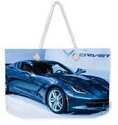 Corvette Stingray Weekender Tote Bag