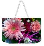 Cosmic Bouquet Weekender Tote Bag