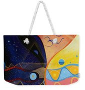 Cosmic Carnival Vlll Aka Sacred And Profane Weekender Tote Bag