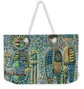 Cosmic Creation Of Adam And Eve Weekender Tote Bag