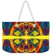 Cosmic Designs Abstract Pattern Artwork Weekender Tote Bag