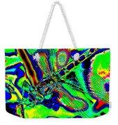 Cosmic Dragonfly Art 2 Weekender Tote Bag