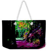 Cosmic Energy Of A Redwood Forest On Mt Tamalpais Weekender Tote Bag