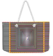 Cosmic Energy Tunnel Infinity Healing Art Background Designs  And Color Tones N Color Shades Availab Weekender Tote Bag