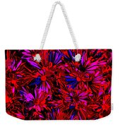 Cosmic Flower Wall Weekender Tote Bag