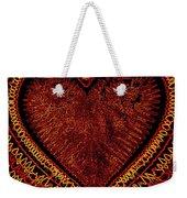 Cosmic Love Weekender Tote Bag