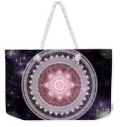 Cosmic Medallions Fire Weekender Tote Bag