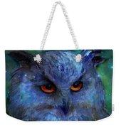 Cosmic Owl Painting Weekender Tote Bag