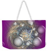 Cosmic Purple Weekender Tote Bag