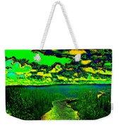Cosmic River 2 Weekender Tote Bag