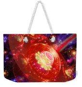 Cosmic Space Station Weekender Tote Bag