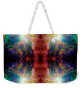 Cosmic Spine Deep Space Reflection Weekender Tote Bag