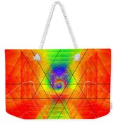 Cosmic Spiral Ascension 01 Weekender Tote Bag